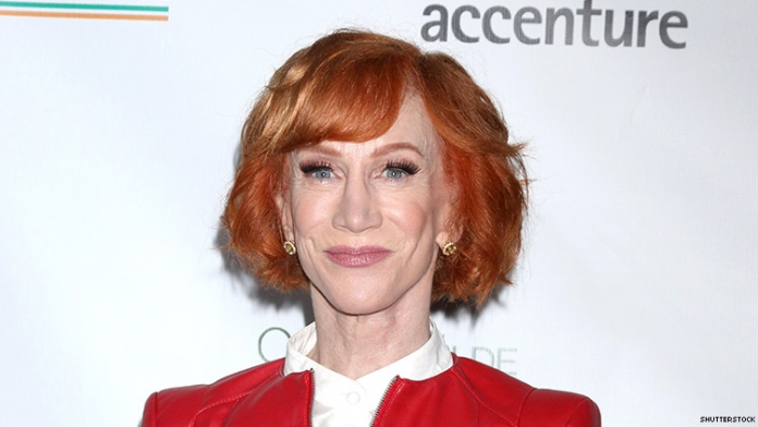 Kathy Griffin Denounces Bizarre Video of Trump Killing Her