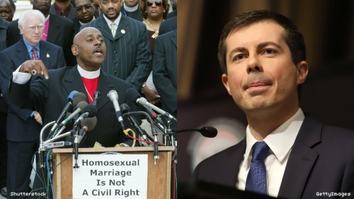 Homophobic Megachurch Pastor Thinks a Gay President Is 'Too Liberal'