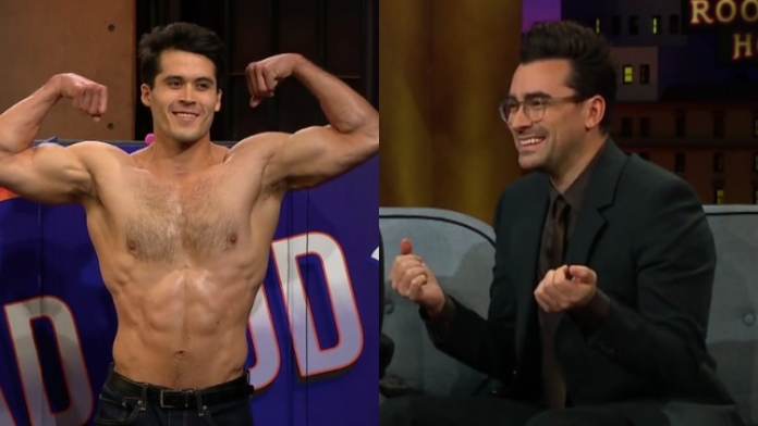Watch Dan Levy Guess Which Dudes Have Hot Torsos Based on Faces