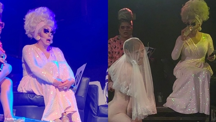 Trixie Mattel Judged a Stripping Contest and Her Reactions Are Perfect