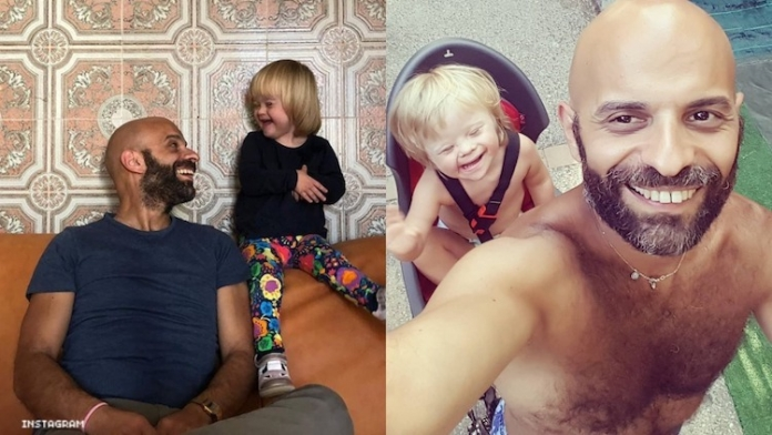 Single Gay Dad Finds Family in Adopted Daughter With Down's Syndrome