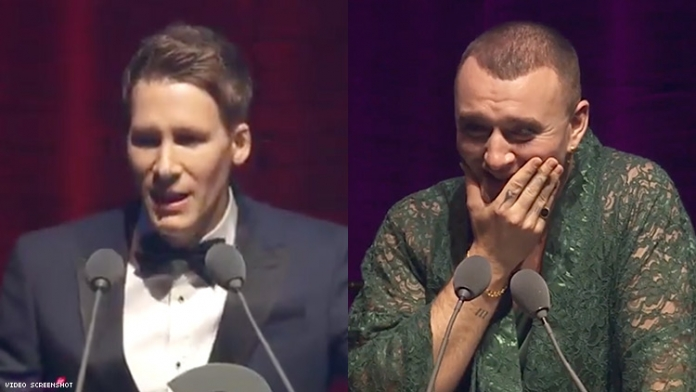 Dustin Lance Black Apologized to Sam Smith Live On Stage