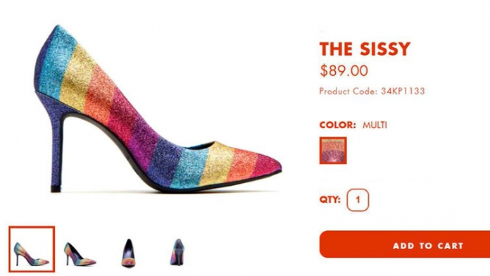 Katy Perry's New Rainbow Heel Is Apparently Called 'The Sissy'