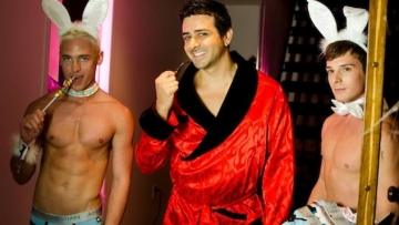 WATCH: Andrew Christian's Halloween Party