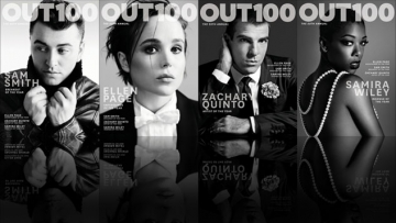 Out100 Covers Revealed: Sam Smith, Ellen Page, Zachary Quinto and More