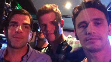 Ready for James Franco, Zach Quinto & Charlie Carver's 'VERY HOT' 3Way Sex Scene in Michael