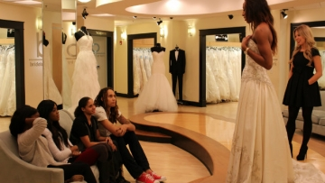 WNBA Stars Brittney Griner and Glory Johnson Say Yes to the Dress