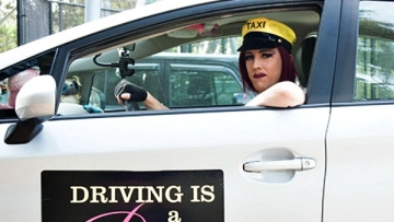 Erika Simone Drag Queen Uber Driver in Los Angeles
