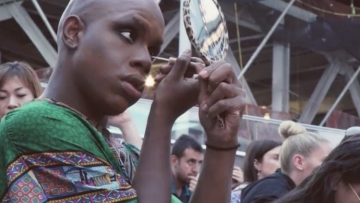 Monét X Change Gets Into Full Drag in Times Square—And Makes an Unexpected Friend