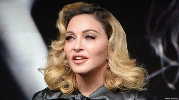 Madonna at the Stonewall Inn, New Year's Eve