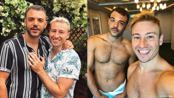 Olympic Diver Matthew Mitcham Is Now Engaged to His Boyfriend