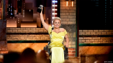 Ali Stroker Becomes First Wheelchair User to Win a Tony