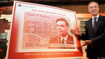 Alan Turing on the 50 Pound Note