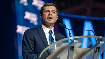 Hollywood donors love Pete Buttigieg.