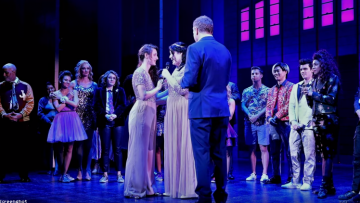 Lesbian Couple Surprises Broadway Audience By Getting Married on Stage