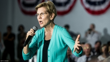 Elizabeth Warren Calls to 'Stop Criminalizing' LGBTQ+ Homeless People
