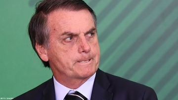 Brazil's Anti-Gay President Blames His Enemies For Amazon Fires