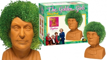 These 'Golden Girls' Chia Pets Are the Gift You Never Knew You Needed