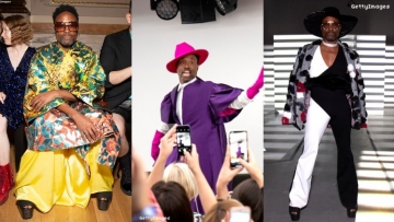 billy porter london fashion week