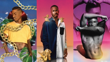 Artist Fred Sands IV turns his unique perspective onto Black gay creatives.