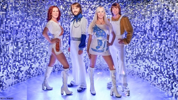 ABBA wax figures