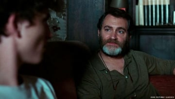 Call Me By Your Name scene where Elio's father gives a monologue.
