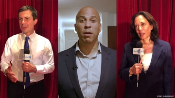 democratic presidential candidates support lgbt lgbtq youth young people spirit day