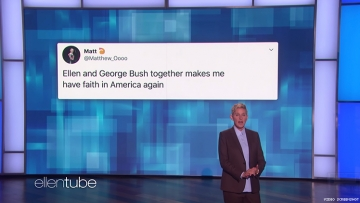 Ellen Is 'Friends' With Bush — But He Was No Friend to LGBTQ+ People