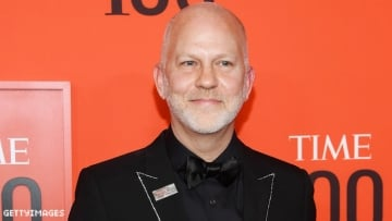 Ryan Murphy on a red carpet.