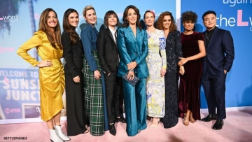 L Word: Generation Q cast on the red carpet.