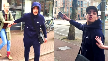 Gay couple spat on in homophobic attack in Amsterdam