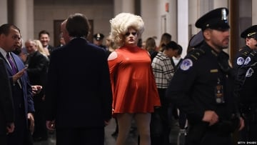 A Drag Queen Is Reporting Live From the Impeachment Hearings