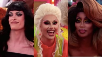 Queens from Drag Race 12 episode 3