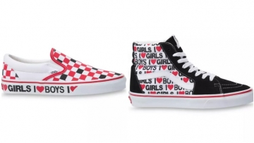 Two pairs of sneakers from Vans