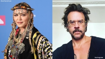 Casey Spooner and Madonna