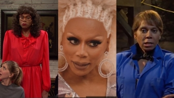 RuPaul in different drag looks for Saturday Night LIve