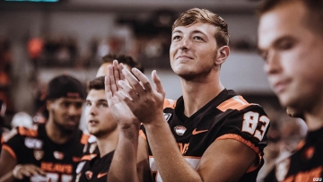 Sophomore Oregon State football player Rocco Carley was dismissed from the team after he was heard making homophobic and racist remarks on a three-year-old video which had resurfaced earlier this week.