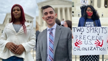 14 LGBTQ+ People on Why They Showed Up to the Supreme Court Today