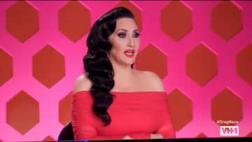 Michelle Visage from RuPaul's Drag Race.