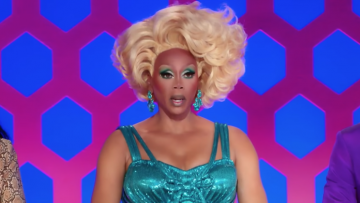 RuPaul at judging panel.