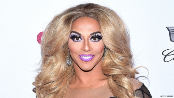Shangela on a red carpet.