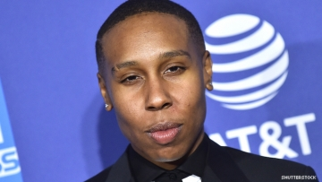 Lena Waithe on the red carpet.