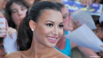 Naya Rivera on a red carpet