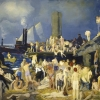 'Riverfront No. 1' by George Wesley Bellows.