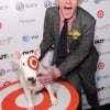 Out100 Honoree Drew Droege with the Target Dog