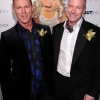 Out100 Honoree Brian Pendleton and Chad Goldman with Miss Piggy