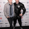 Jake Shears and Wesley Taylor on the red carpet of the Out100 Party