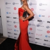 Wynter Gordon on the red carpet for the Out100 party