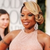 Mary J. Blige at the 2012 Golden Globe Awards
