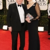 Mr. & Mrs. Julian Fellowes at the 2012 Golden Globe Awards